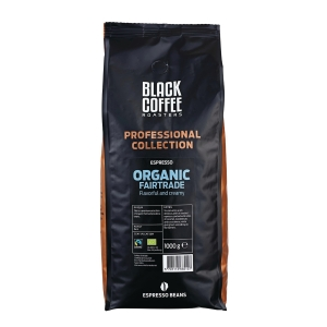 Espressobönor BKI Black Coffee Roasters Organic Fairtrade Espresso, 1kg