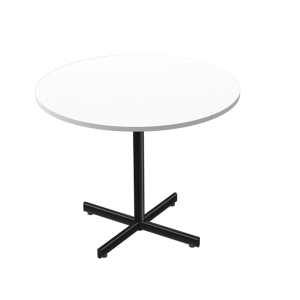 LANAB OFFICELINE TABLE 90H72 WH W/BLK