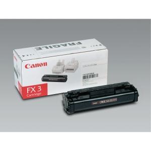 Laserpatron Canon FX3 fax svart