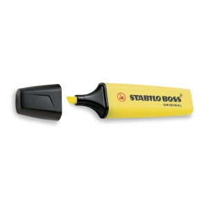 Överstrykningspenna Stabilo Boss Original 70/24 gul