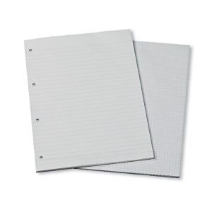 Konferensblock Specialplast, A4, linjerat med 4 hål, 25 ark à 60 g