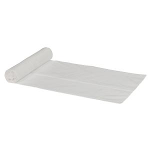 Plastpåse 370x500 mm vit 30 st/rulle