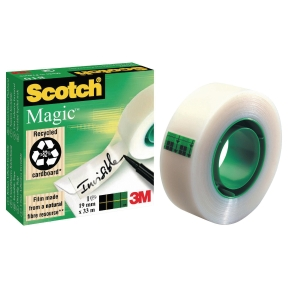 Tejp Scotch Magic 810, 12 mm x 33 m