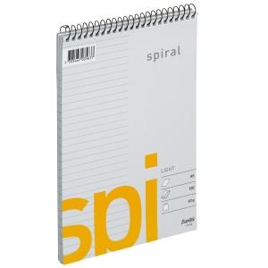 SPIRALBLOCK 60G VPS L 166X210MM 100 BLAD A5