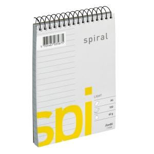 SPIRALBLOCK 60G VPS L 106X164MM 100 BLAD A6