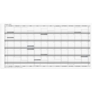 Kalender Burde 91 2320 Planeringsblad Årsplan 60 x 297 mm 5/fp