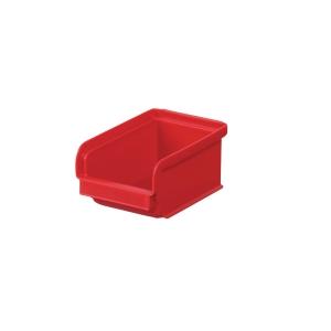 Lagerlåda 0,8 L, 16,5 x 1,5 x 7,5 cm, röd