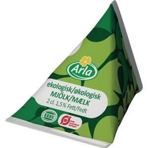 Ekologisk kaffemjölk Arla, 16 ml, förp. med 100 st