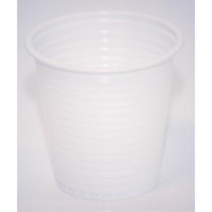 Plastmugg Duni 12 cl vit 80 st/påse
