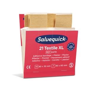 Plåster Salvequick  6470 textil 126 st/fp