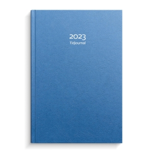 KALENDER BURDE 91 1000 TIDJOURNAL 2020 ALMANACKA INBUNDEN 180X265MM KARTONG BLÅ