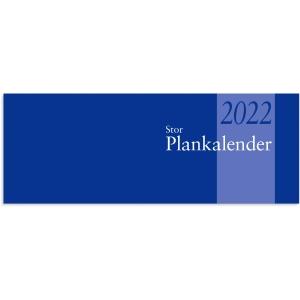 STOR PLANKALENDER 1350 13 LIMBUNDEN