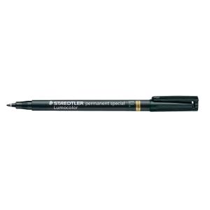 Permanent märkpenna Staedtler Lumocolor 319 special, fin spets, svart