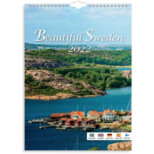 Kalender Burde 91 1725 Beautiful Sweden 330 x 455 mm