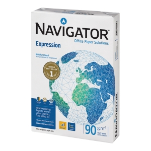 Multifunktionspapper Navigator Expression A3 90 g 500 ark/fp