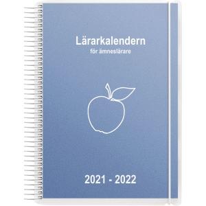 LÄRARKALENDERN FÖR ÄMNESLÄRARE 90 1252 A5 BLÅ