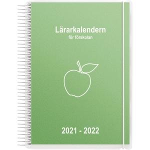 LÄRARKALENDERN FÖR FÖRSKOLAN 90 1253 A5 GRÖN
