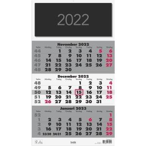 Kalender Burde 91 1745 Triplaner Elegant 285 x 500 mm
