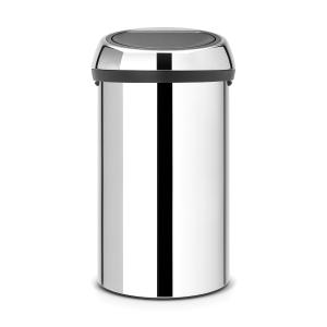 Avfallshink Brabantia Touch Bin 60 liter blankt stål