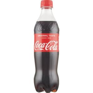 Coca Cola 50 cl pet-flaske kartong med 24 st - priset är inkl. pant