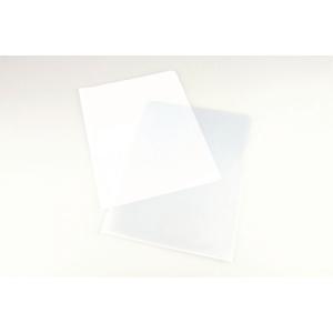 Plastficka Lyreco, utan hålning, A4, 90 my, förp. med 100 st