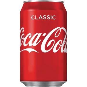 Coca Cola 33 cl burk kartong med 24 st - priset är inkl. pant