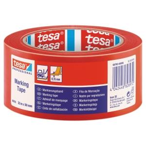 Golvmärkningstejp Tesa 60760 50mmx33m röd
