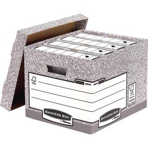 BANKERS BOX® SYSTEM FÖRVARINGSKARTONG STANDARD 10 ST/FP