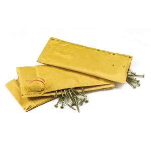 JIFFY PADDED BAG 210X360MM BRW