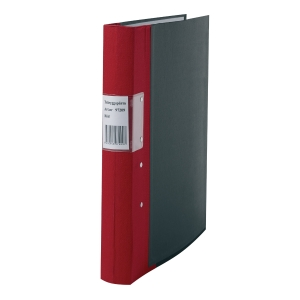 Pärm Specialplast Budget, 40 mm, röd