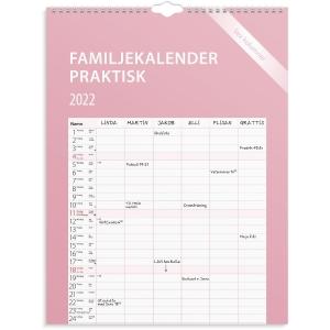 Kalender Burde 91 1759 Familjekalender Praktisk 295 x 390 mm