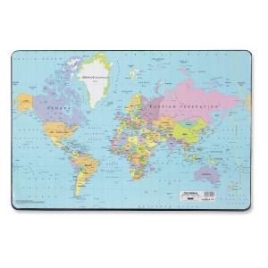 Skrivunderlägg Durable, 53 x 40cm, världskarta
