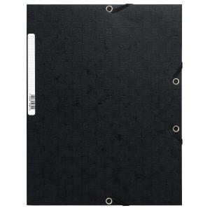 Gummibandsmapp Exacompta, 425 g, svart