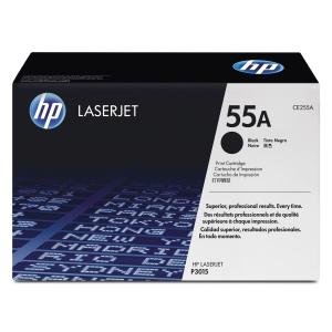 Lasertoner HP 55A CE255A 6 000 sidor svart