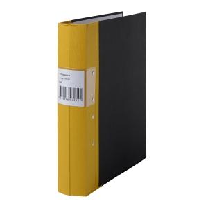 Pärm Specialplast, A4, svensk hålning, 6 cm rygg, gul