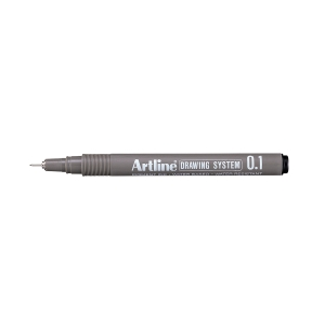 Fineliner Artline Drawing Pen EK231, 0,1 mm, svart