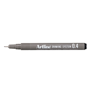 DRAWING PEN ARTLINE EK234 0.4MM SVART
