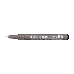 Fineliner Artline Drawing Pen EK235, 0,5 mm, svart