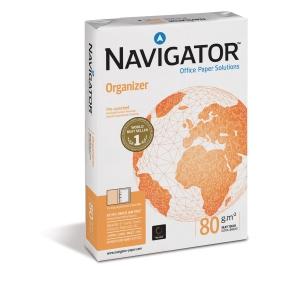 Multifunktionspapper Navigator Universal hålat A4 80 g kartong med 5 x 500 ark