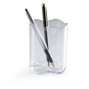 DURABLE TREND PEN POT TRANSPARENT