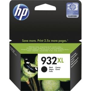 INKJET PATRON HP932XL CN053AE SVART