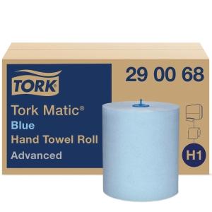 Torkrulle Tork H1, blå, förp. med 6rullar