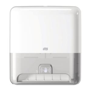 Dispenser Tork H1 Matic Sensor, för torkpapper, vit