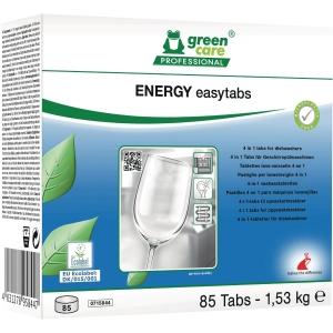 Opvasketabs Green Care Energi Easytabs 4i1 æske a 80 stk