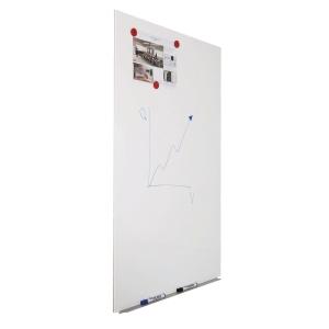 Whiteboardtavla Rocada magnetisk 75 x 115 cm, vit