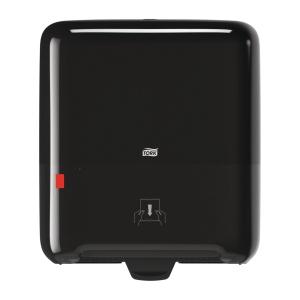 Dispenser Tork H1, för torkrullar, svart