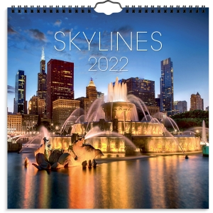 Kalender Burde 91 1795 Skylines 300 x 300 mm