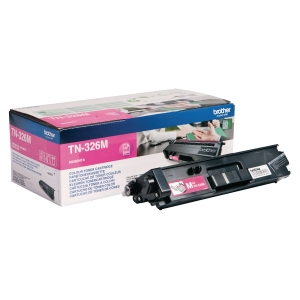 Lasertoner Brother TN326M, 3 500 sidor, magenta