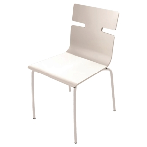 WHISPER CANTEEN CHAIR WHITE LAK