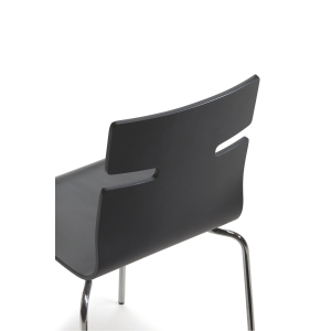 WHISPER CANTEEN CHAIR BLACK